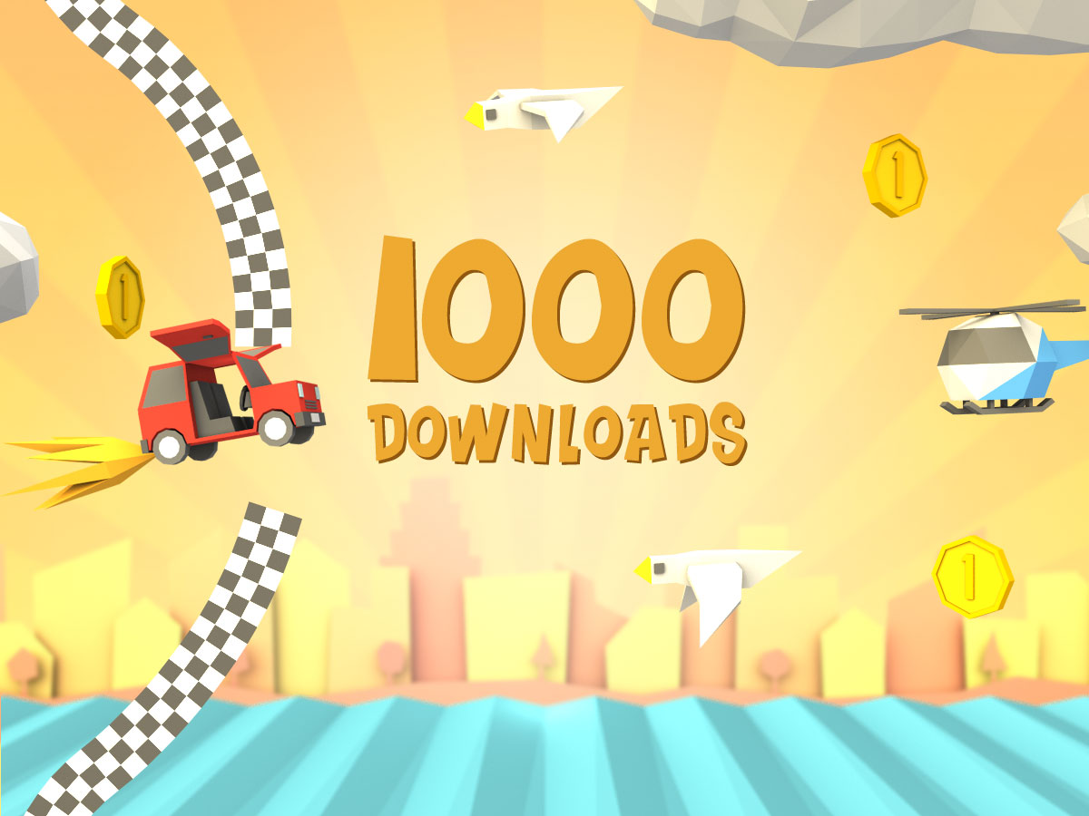 Super Car Plane! 1000 downloads
